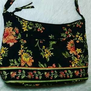QK Quilted Montego Print Floral Shopper Bag